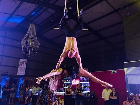 The Cirk Trapeze Act